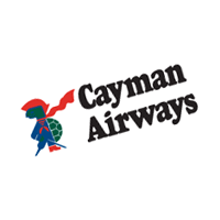 Cayman Airways 384 vector