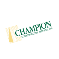 Champion Communication Services 205 vector
