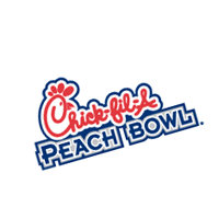 Chick-fil-A Peach Bowl 308 vector