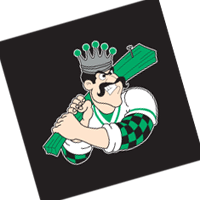 Clinton LumberKings 197 vector