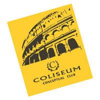 Coliseum Conceptual Club vector