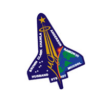 Columbia mission patch vector