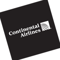 Continental Airlines 283 vector