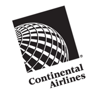 Continental Airlines 284 vector