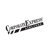Corporate Express Airlines vector