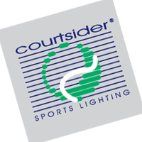 Courtsider Sports Lighting vector