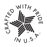 Crafted With Pride vector