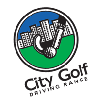 city golf driving range 1 vector
