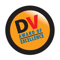 DV Award of Excellence vector