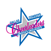 Dallas Cowboys Cheerleaders vector