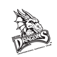Dayton Dragons 122 vector