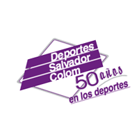 Deportes Salvador Colom vector