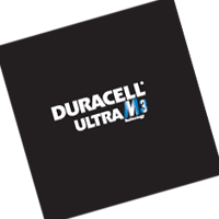 Duracell Ultra M3 Technology vector