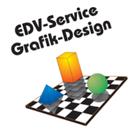 EDV-Service Grafik-Design vector