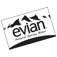 EVIAN WATER 2 vector