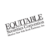 Equitable Securities Corporation vector
