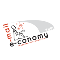 e-mail e-conomy vector