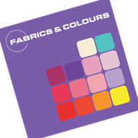 Fabrics & Colours vector