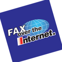 Fax over the Internet vector