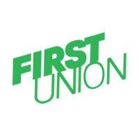 First Union Bank vector