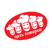 Five cooks vector