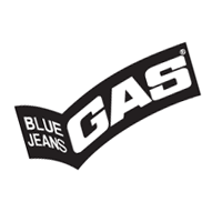 Gas Blue Jeans vector