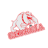 Georgia Bulldogs 175 vector