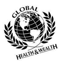 Global Health And Wealth vector