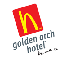 Golden Arch Hotel vector