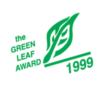 Green Leaf Award vector