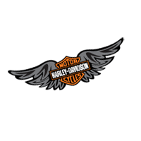 Harley Wings vector