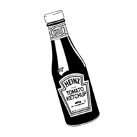 Heinz Ketchup Bottle vector