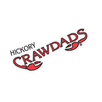 Hickory Crawdads 104 vector