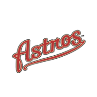Houston Astros 119 vector