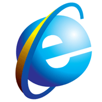 Image Gallery internet explorer logo vector