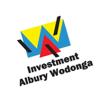 Investment Albury Wodonga vector
