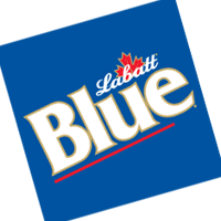 Labatt Blue 36 vector