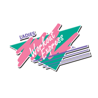 Ladies Workout Express vector