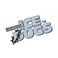 Long Angeles Ice Dogs 31 vector