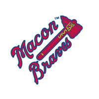 Macon Braves 33 vector