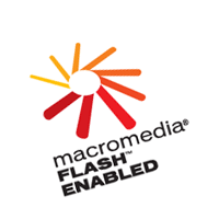 Macromedia Flash Enabled 42 vector