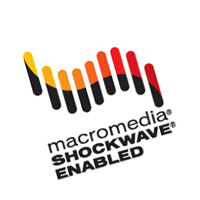 Macromedia Shockwave Enabled 45 vector