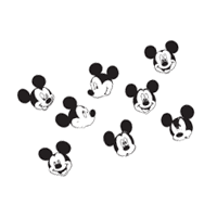 Mickey Mouse 65 vector