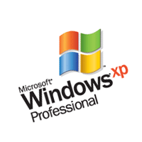 Microsoft Windows XP Professional 133 vector