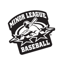 Minor League Baseball 268 vector