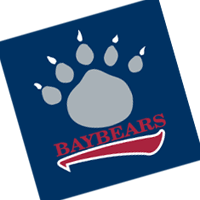Mobile BayBears 26 vector