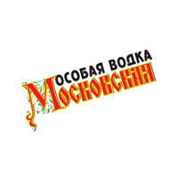 Moskovskaya Vodka 135 vector
