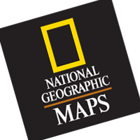 National Geographic Maps vector