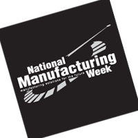 National Manufacturing Week vector