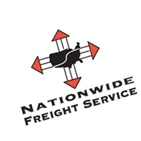 Nationwide Freight Service vector